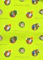 Sinterklaas Cadeaupapier - groen