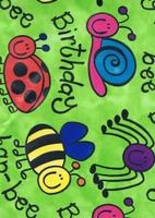 Verjaardag Cadeaupapier - groen