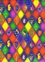 Sinterklaas Cadeaupapier - ruit