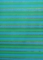 Cadeaupapier - Streep Groen - Blauw