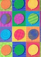 Verjaardag Cadeaupapier - balloons