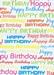 Verjaardag Cadeaupapier - tekst