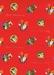Sinterklaas Cadeaupapier - rood